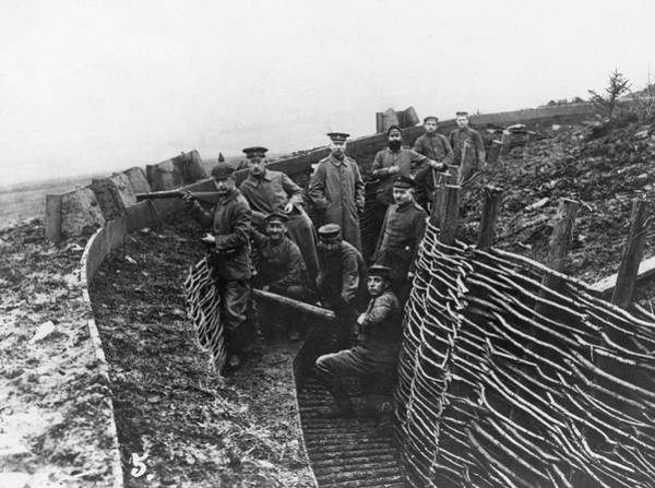 Photograph - Wwi Trenches, C1915 by Granger