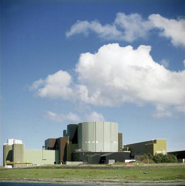 Controversial Wall Art - Photograph - Wylfa Nuclear Power Station by Robert Brook/science Photo Library