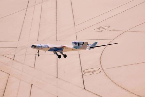 X Wing Photograph - X-48c Sub-scale Research Aircraft by Nasa/carla Thomas