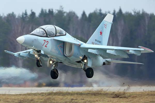 Yakovlev Photograph - Yak-130 Training Aircraft Of Russian by Artyom Anikeev