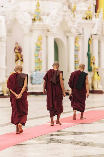 Real People Photograph - Yangon, Myanmar by Gavin Gough