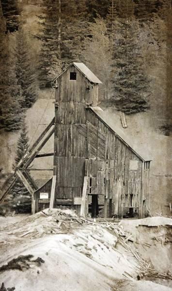 Silverton Photograph - Yankee Girl Mine by Dan Sproul