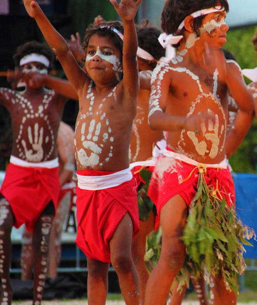 Photograph - Yarrabah Boys by Debbie Cundy
