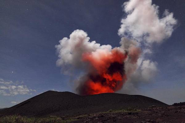Yasur Photograph - Yasur Volcano, Vanuatu by Science Photo Library