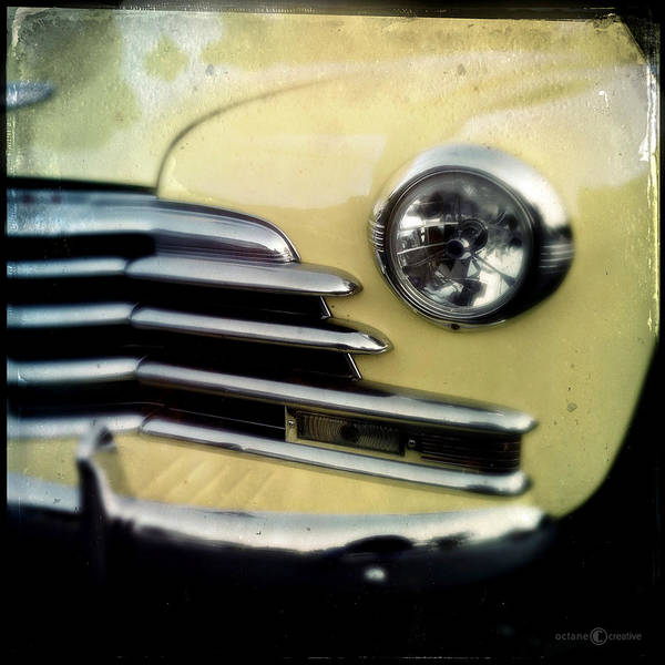 Photograph - Yellow Chevrolet by Tim Nyberg