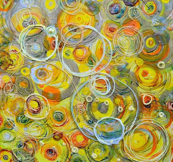 Painting - Yellow Counterpoint by Regina Valluzzi