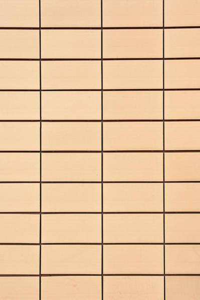 Sauna Wall Art - Photograph - Yellow Tiles by Tom Gowanlock