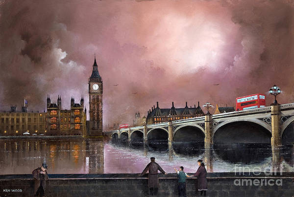 Painting - Yes Son Thats Big Ben by Ken Wood