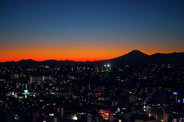 Kanagawa Wall Art - Photograph - Yokohama Aerial Night View by Digipub
