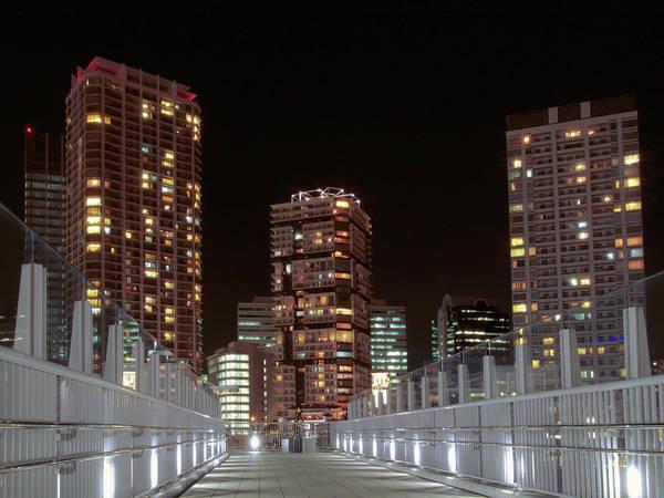 Kanagawa Wall Art - Photograph - Yokohama Night View by Digipub