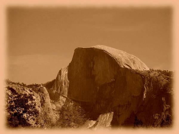 Photograph - Yosemite - Half Dome by Richard Reeve
