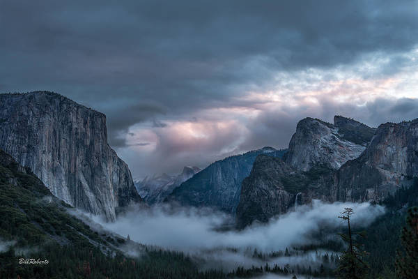 El Capitan Photograph - Yosemite In Clouds by Bill Roberts