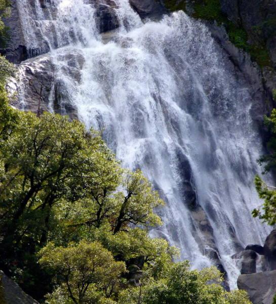 Photograph - Yosemite Waterfall by Jeff Lowe