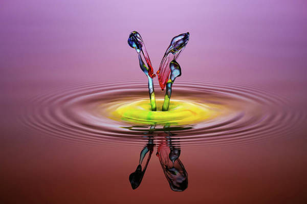 Ripples Photograph - You And Me by Muhammad Berkati