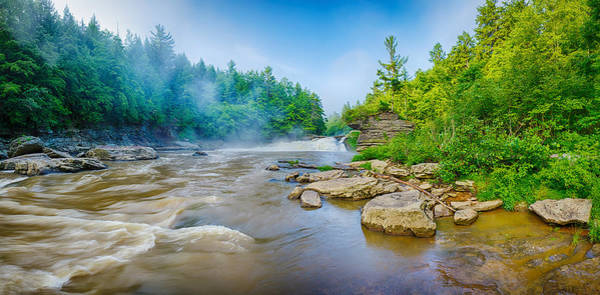 Hemlock Photograph - Youghiogheny River A Wild And Scenic by Panoramic Images