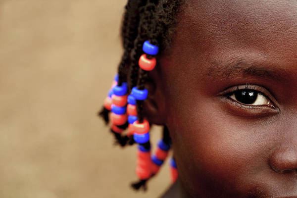 Uganda Wall Art - Photograph - Young Girl by Mauro Fermariello/science Photo Library