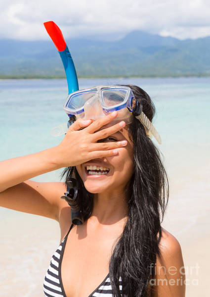 Photograph - Young Indonesian Woman On A Beach by Didier Marti