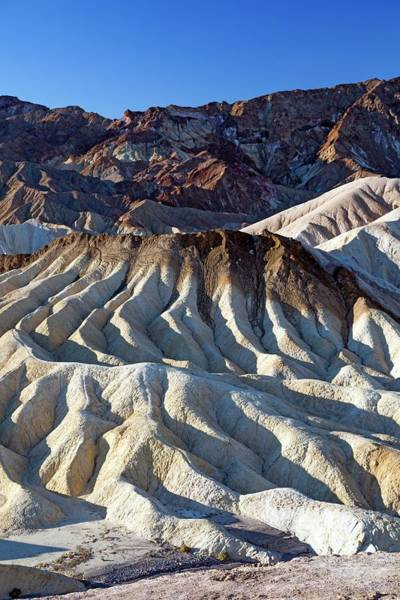 Furnace Creek Photograph - Zabriskie Point by Jim West