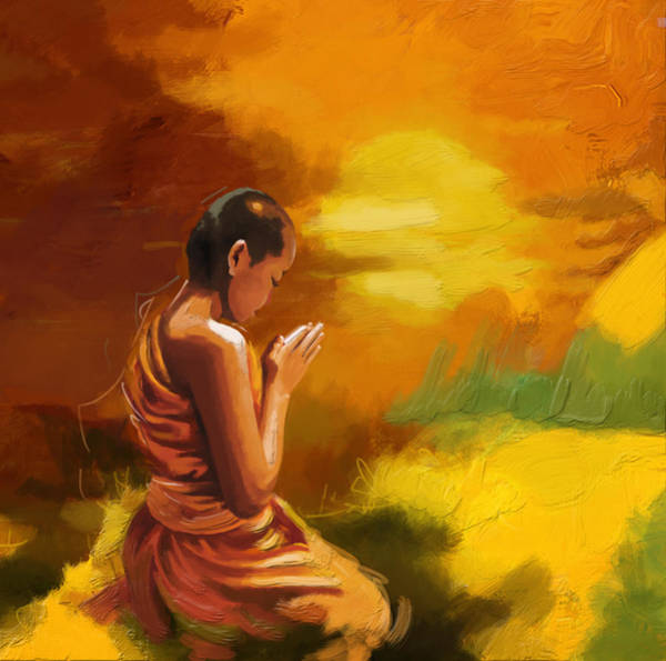 Zen Buddhism Painting - Zen by Corporate Art Task Force