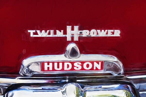 Photograph - 1952 Hudson Hornet 4 Door Sedan Twin H Power Painted  by Rich Franco