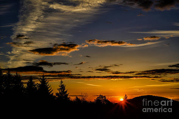 Highland Scenic Highway Wall Art - Photograph - Allegheny Mountain Sunrise #10 by Thomas R Fletcher