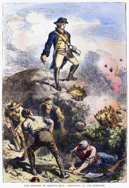 Militiaman Photograph - Battle Of Bunker Hill, 1775 by Granger