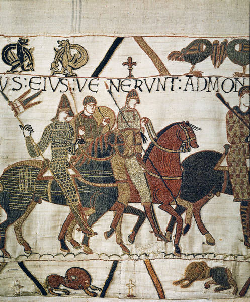 Wall Art - Painting - Bayeux Tapestry by Granger