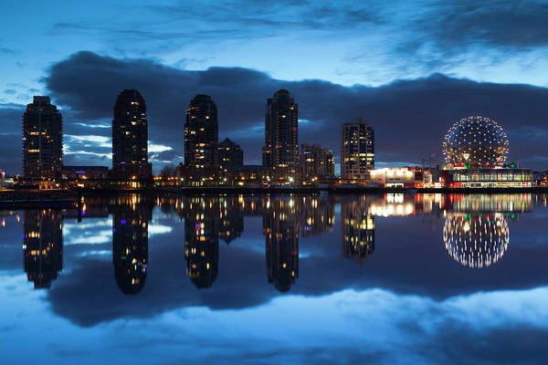False Creek Wall Art - Photograph - Canada, British Columbia, Vancouver by Walter Bibikow