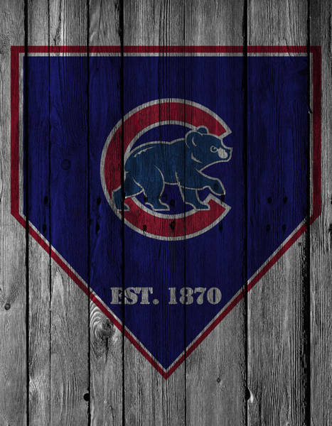 Outfield Wall Art - Photograph - Chicago Cubs by Joe Hamilton