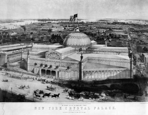Painting - Crystal Palace, 1853 by Granger