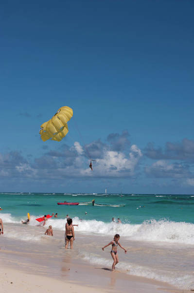 Watersports Photograph - Dominican Republic, Punta Cana, Higuey by Lisa S. Engelbrecht