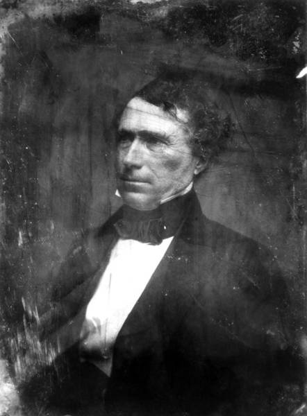 Photograph - Franklin Pierce (1804-1869) by Granger