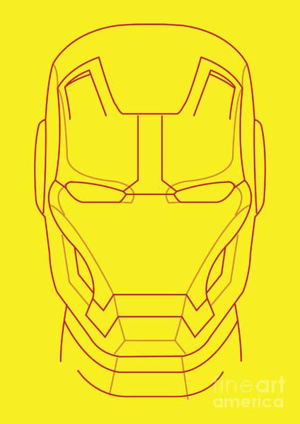 Wall Art - Digital Art - Iron Man by Geek N Rock