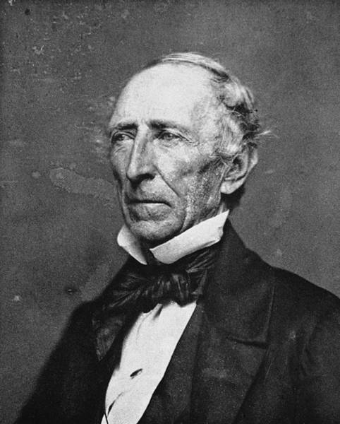 Photograph - John Tyler (1790-1862) by Granger