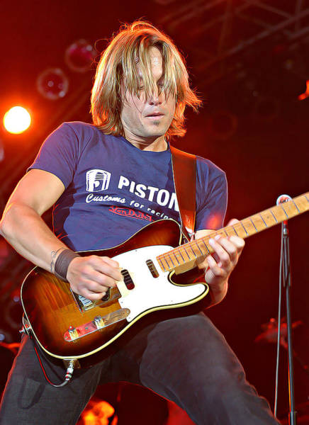 Wall Art - Photograph - Keith Urban by Don Olea