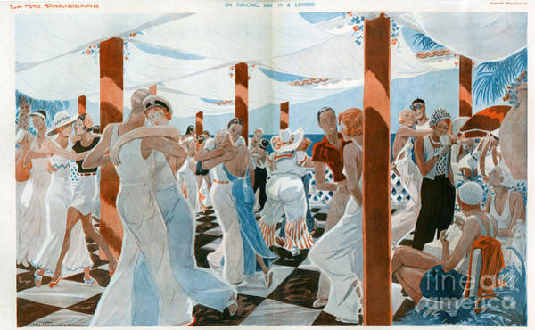 Cities Drawing - La Vie Parisienne  1931 1930s France Cc by The Advertising Archives