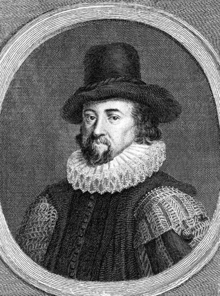 Francis Bacon Wall Art - Drawing - Lord Francis Bacon Viscount St Albans by Mary Evans Picture Library