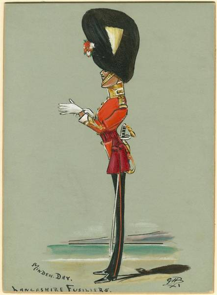 Painting - Military Uniform Caricatures by Celestial Images