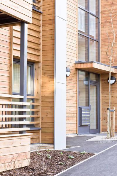 Housing Development Photograph - Modern Apartments by Tom Gowanlock