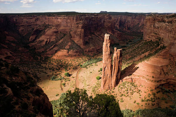 Spider Rock Photograph - Native American Parks by Kevin Moloney