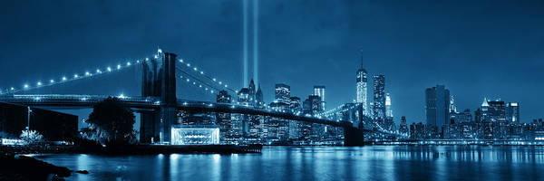 Wall Art - Photograph - New York City Night by Songquan Deng
