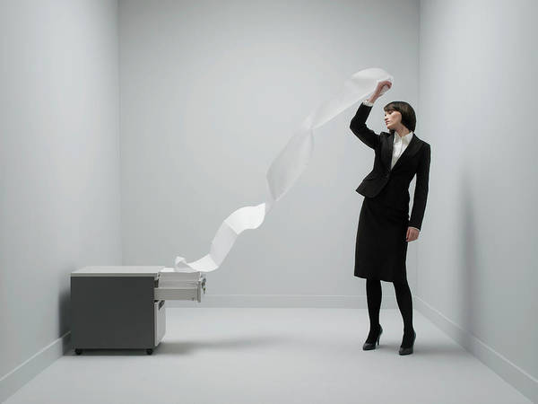 Wall Art - Photograph - Office Stress by Howard George/science Photo Library