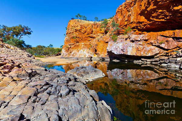 Northern Territory Photograph - Ormiston Gorge by Bill  Robinson
