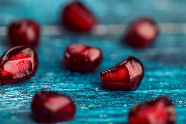 Food And Drink Photograph - Pomegranate by Nailia Schwarz