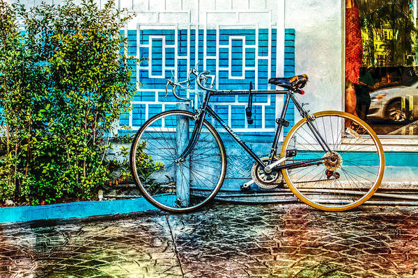 Photograph - 10 Speeds In The Deco District by Melinda Ledsome