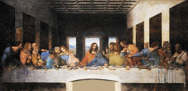 Painting - The Last Supper by Leonardo da Vinci