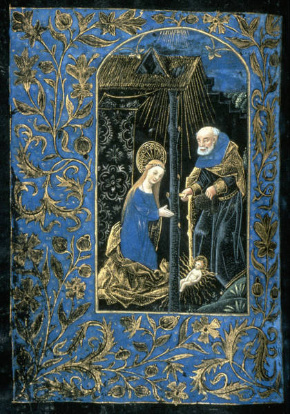 Illumination Painting - The Nativity by Granger