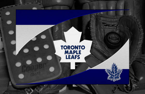 Wall Art - Photograph - Toronto Maple Leafs by Joe Hamilton