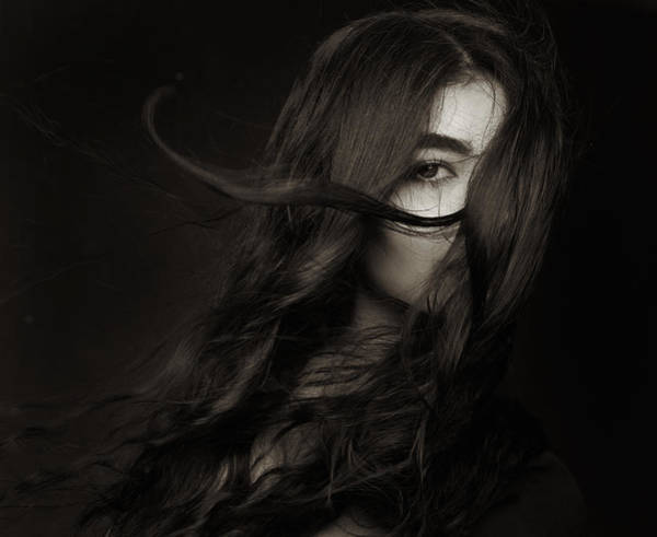 Hair Photograph - Untitled by Mehdi Mokhtari