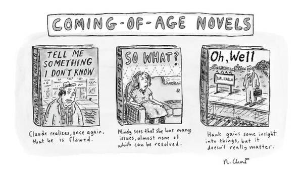 What Drawing - New Yorker June 11th, 2007 by Roz Chast